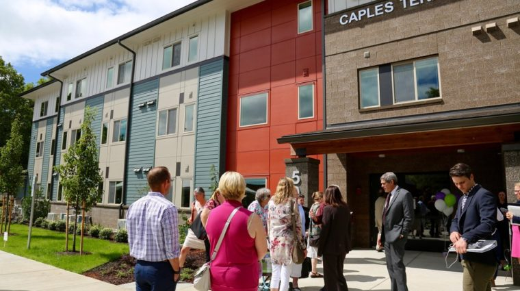 Caples Terrace housing complex offers independent living opportunities for young adults transitioning out of foster care.