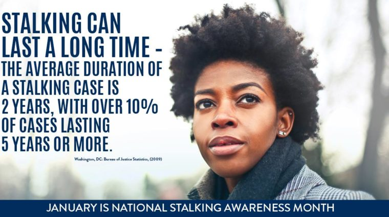 Stats from Stalking Prevention, Awareness, and Resource Center (SPARC)