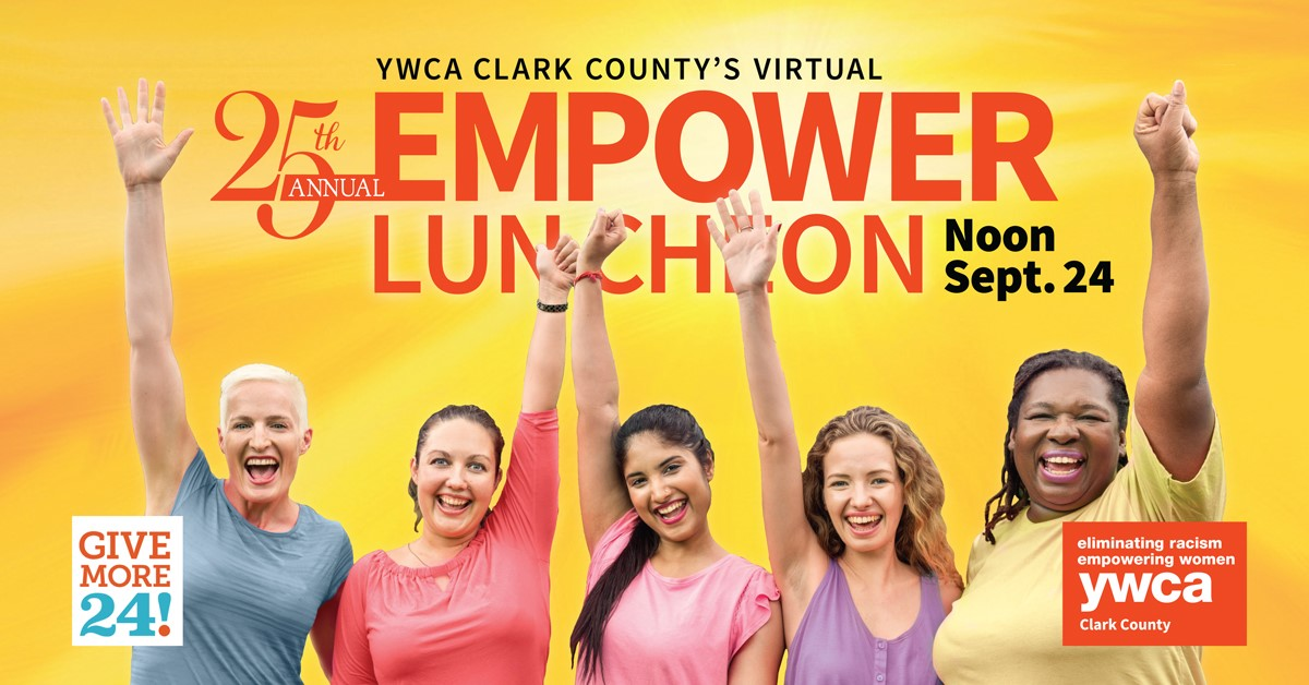 25th Annual Empower Luncheon (Virtual) @ Virtual