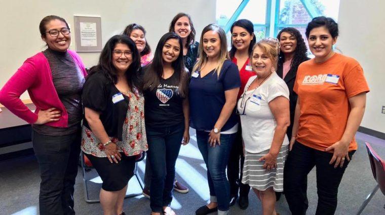 LatinX legal clinic volunteers