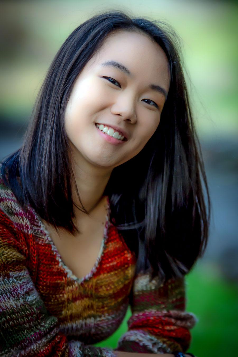 Young Women of Achievement scholarship winner Monica Chang, a Camas High School graduate